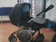 silver cross sleepover pram